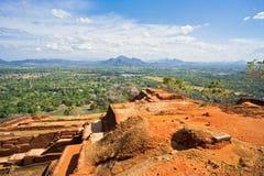 Βράχος Sigiriya Στοκ Φωτογραφίες