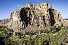 βράχος Smith του Όρεγκον στοκ εικόνα με δικαίωμα ελεύθερης χρήσης