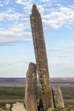 Βράχος Teter, λόφοι πυρόλιθου, Κάνσας Στοκ Εικόνες
