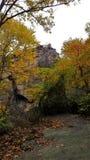 Βράχος Underlook χαλκού Στοκ φωτογραφία με δικαίωμα ελεύθερης χρήσης