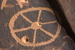 βράχος Utah εφημερίδων στοκ φωτογραφίες