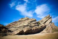 Βράχος Vasquez σε Καλιφόρνια Στοκ εικόνες με δικαίωμα ελεύθερης χρήσης