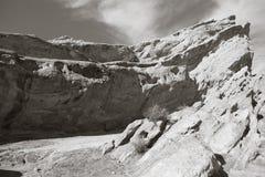 Βράχος Vasquez σε Καλιφόρνια Στοκ Εικόνες