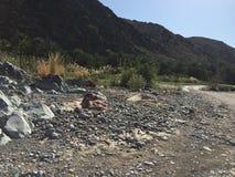 Βράχος Wadi Στοκ Φωτογραφίες
