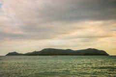 Βράδυ θάλασσας Στοκ φωτογραφία με δικαίωμα ελεύθερης χρήσης