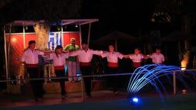 Βράδυ της ελληνικής μουσικής απόθεμα βίντεο