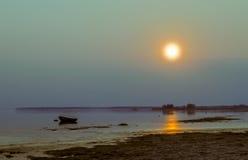 Βράδυ Dnieper Στοκ φωτογραφίες με δικαίωμα ελεύθερης χρήσης