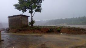 βρέχοντας Mangalore Στοκ φωτογραφία με δικαίωμα ελεύθερης χρήσης