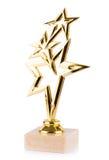 Βραβεία αστεριών που απομονώνονται στο άσπρο υπόβαθρο Στοκ Εικόνες