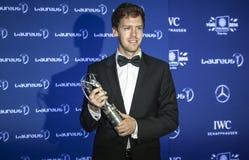 Βραβεία Laureus Vettel Στοκ Φωτογραφία