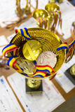 Βραβείο και μετάλλια Στοκ φωτογραφία με δικαίωμα ελεύθερης χρήσης
