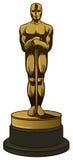 βραβείο χρυσό Στοκ Εικόνες