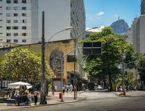 Βραζιλία copacabana de janeiro Ρίο Στοκ φωτογραφία με δικαίωμα ελεύθερης χρήσης