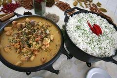 βραζιλιάνα τρόφιμα ψαριών Στοκ Εικόνα