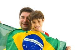 βραζιλιάνα υποστήριξη Στοκ Εικόνα
