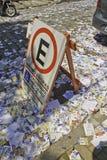 Βραζιλιάνες εκλογές 2012 - βρώμικη πόλη Στοκ Εικόνες