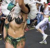 βραζιλιάνο καρναβάλι Στοκ εικόνα με δικαίωμα ελεύθερης χρήσης