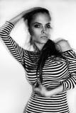 Βραζιλιάνο μοντέλο μόδας Στοκ Εικόνες