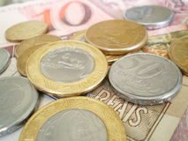 βραζιλιάνο νόμισμα Στοκ φωτογραφίες με δικαίωμα ελεύθερης χρήσης