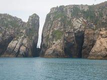 Βραζιλιάνα ακτή, Arraial do Cabo στοκ εικόνα