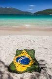 Βραζιλιάνα παραλία παραδείσου Στοκ φωτογραφία με δικαίωμα ελεύθερης χρήσης