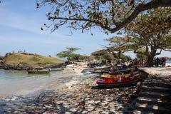 Βραζιλιάνο αλιευτικό σκάφος Στοκ Εικόνες