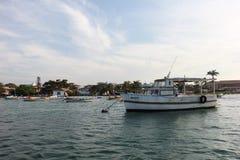 Βραζιλιάνο αλιευτικό σκάφος Στοκ φωτογραφία με δικαίωμα ελεύθερης χρήσης