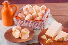 βραζιλιάνο τυρί ψωμιού Στοκ Φωτογραφίες