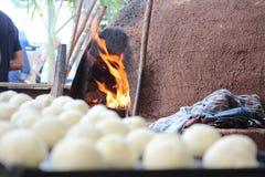 βραζιλιάνο τυρί ψωμιού στοκ εικόνες