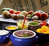 Βραζιλιάνο feijoada Στοκ εικόνα με δικαίωμα ελεύθερης χρήσης