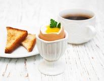 βρασμένα αυγά προγευμάτω&nu Στοκ εικόνα με δικαίωμα ελεύθερης χρήσης