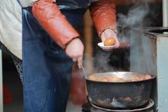 βρασμένα αυγά Στοκ εικόνα με δικαίωμα ελεύθερης χρήσης