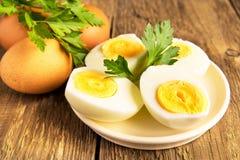 βρασμένα αυγά Στοκ φωτογραφίες με δικαίωμα ελεύθερης χρήσης