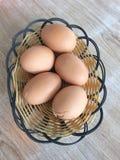 βρασμένα αυγά Στοκ Φωτογραφίες