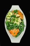 βρασμένα στον ατμό τυρί λαχανικά Στοκ Εικόνα