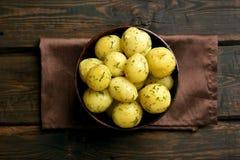 βρασμένες πατάτες άνηθου στοκ εικόνες με δικαίωμα ελεύθερης χρήσης