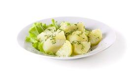 βρασμένες πατάτες στοκ φωτογραφία