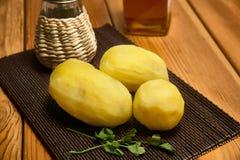 βρασμένες πατάτες Στοκ Εικόνα