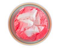 Βρασμένος στον ατμό cupcake Στοκ Εικόνα