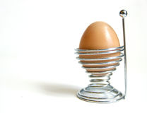 βρασμένο αυγό προγευμάτω& Στοκ Εικόνα