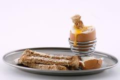 βρασμένο αυγό Στοκ Εικόνα