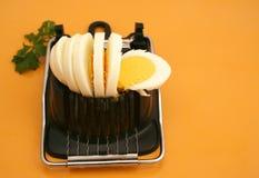 βρασμένο αυγό Στοκ εικόνα με δικαίωμα ελεύθερης χρήσης
