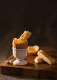 βρασμένο αυγό Στοκ φωτογραφίες με δικαίωμα ελεύθερης χρήσης