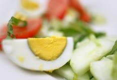 βρασμένο αυγό Στοκ Φωτογραφίες