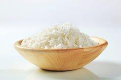 βρασμένο λευκό ρυζιού Στοκ Εικόνες