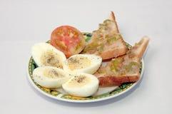 βρασμένο σάντουιτς αυγών στοκ φωτογραφίες με δικαίωμα ελεύθερης χρήσης