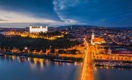 Βρατισλάβα Σλοβακία Στοκ εικόνα με δικαίωμα ελεύθερης χρήσης