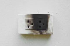 Βραχυκύκλωμα ηλεκτρικής ενέργειας Στοκ Εικόνα