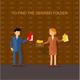 βρείτε τον επιθυμητό φάκελλο απεικόνιση αποθεμάτων