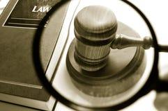 βρείτε το νόμο Στοκ Εικόνα
